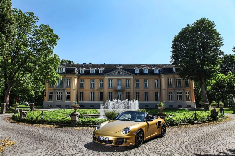 Porsche 911 Turbo Cabrio by WIMMER RST  9