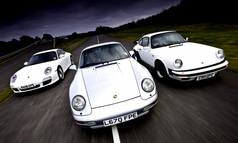 Porsche 911 Turbo Generations 1