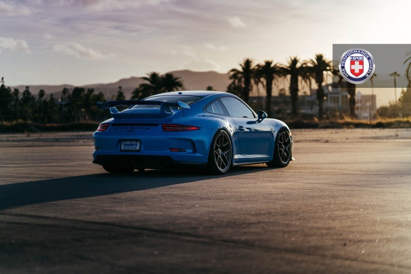 Porsche 991 GT3 with PCCB and 19 inch HRE R101_23698073104_o