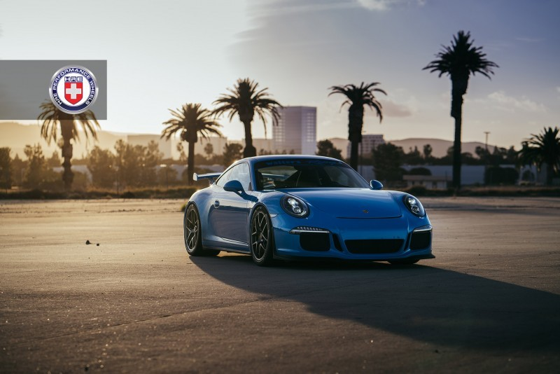 Porsche 991 GT3 with PCCB and 19 inch HRE R101_23699464013_o