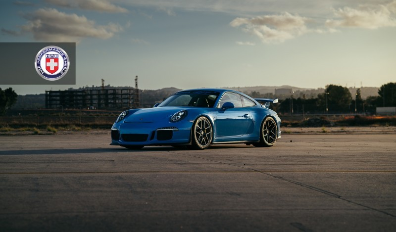 Porsche 991 GT3 with PCCB and 19 inch HRE R101_23699464123_o