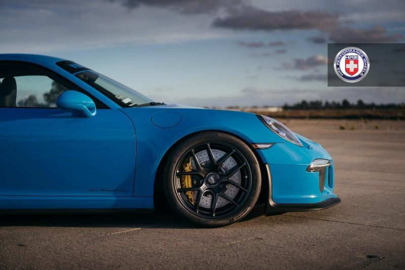 Porsche 991 GT3 with PCCB and 19 inch HRE R101_23958466519_o