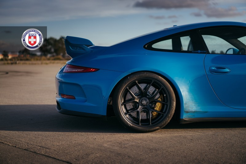 Porsche 991 GT3 with PCCB and 19 inch HRE R101_23958466709_o