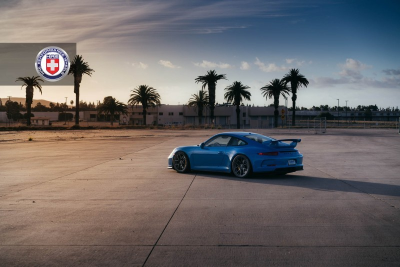 Porsche 991 GT3 with PCCB and 19 inch HRE R101_23958467699_o