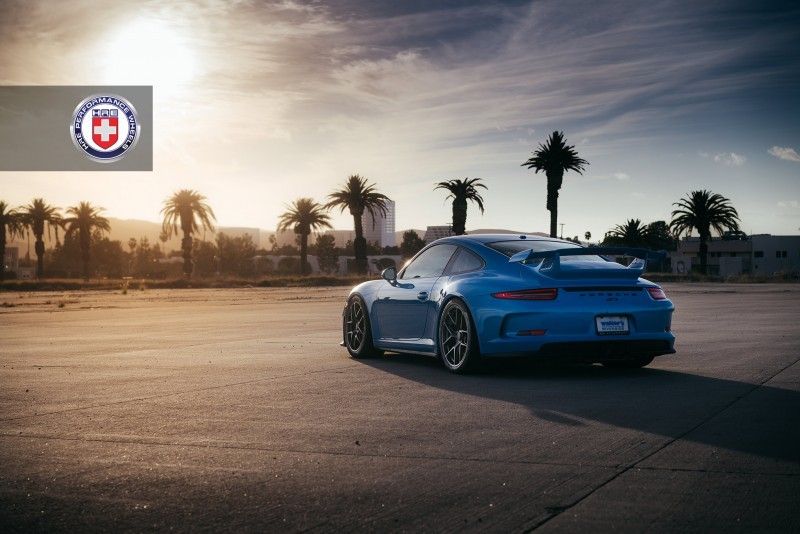Porsche 991 GT3 with PCCB and 19 inch HRE R101_24030698850_o