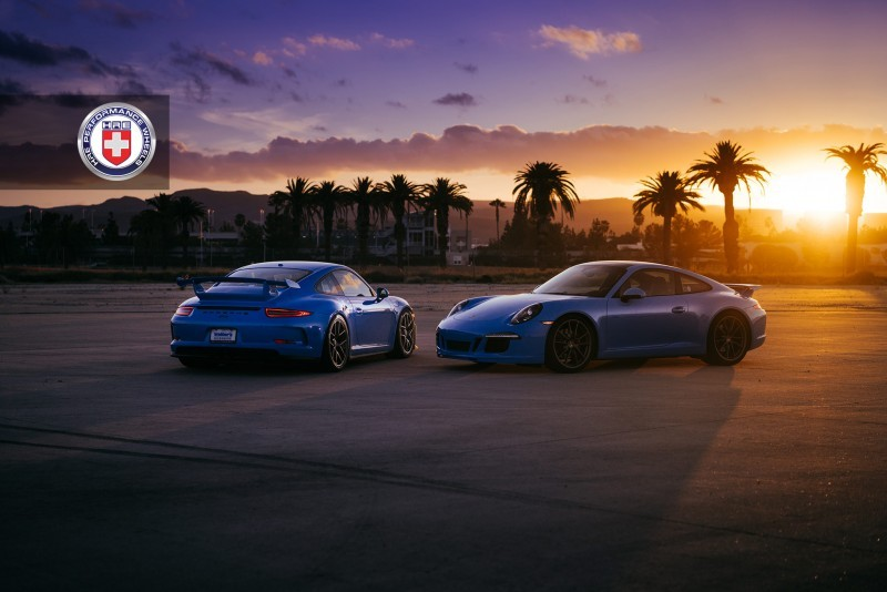 Porsche 991 GT3 with PCCB and 19 inch HRE R101_24218081472_o