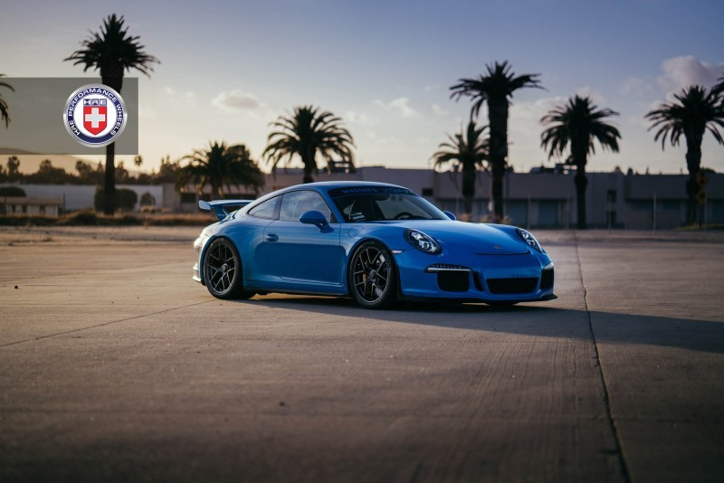 Porsche 991 GT3 with PCCB and 19 inch HRE R101_24218082812_o