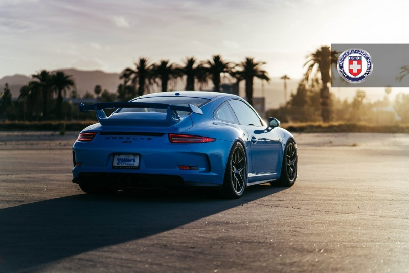 Porsche 991 GT3 with PCCB and 19 inch HRE R101_24243774341_o