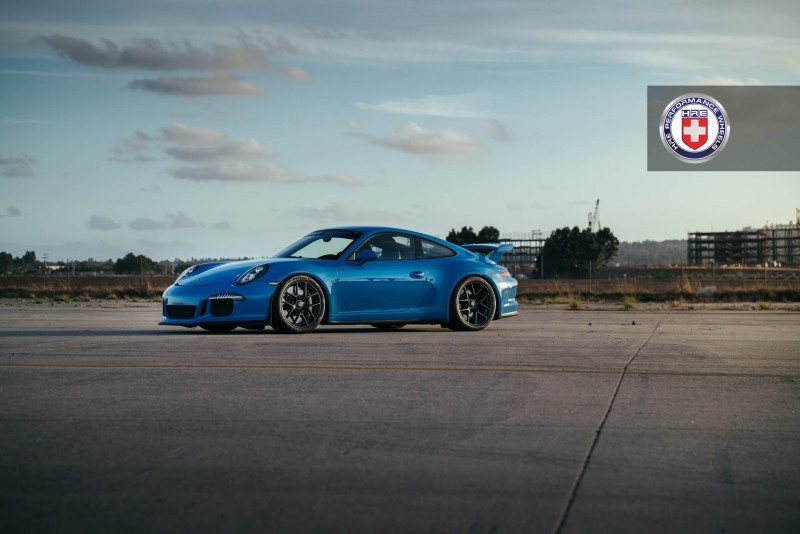 Porsche 991 GT3 with PCCB and 19 inch HRE R101_24243774591_o
