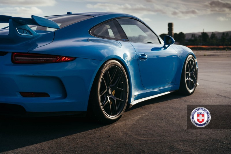 Porsche 991 GT3 with PCCB and 19 inch HRE R101_24300113256_o