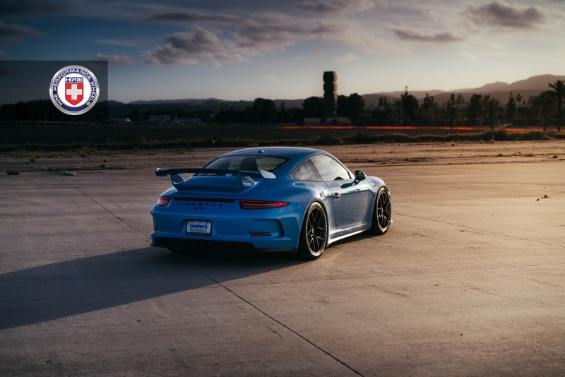 Porsche 991 GT3 with PCCB and 19 inch HRE R101_24326287325_o
