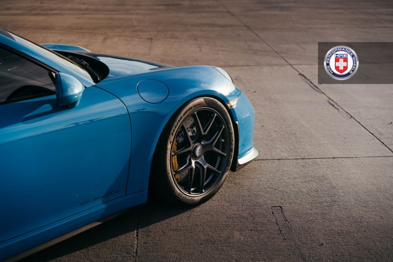 Porsche 991 GT3 with PCCB and 19 inch HRE R101_24326287605_o