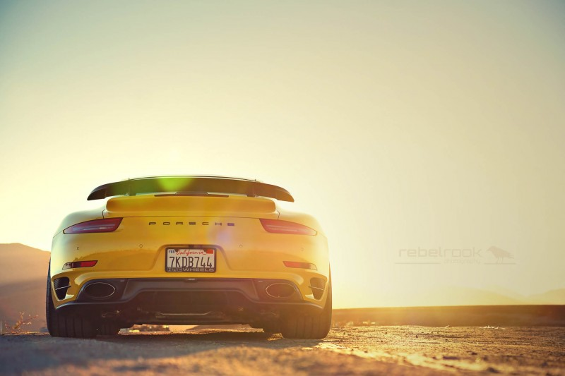 Porsche 991 Turbo S with HRE RC100 in Gloss Black_23546976323_o