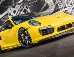 Custom Showcase – Porsche 991 Turbo S on Gloss-Black HRE RC100s