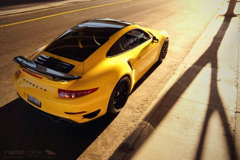 Porsche 991 Turbo S with HRE RC100 in Gloss Black_24173755105_o
