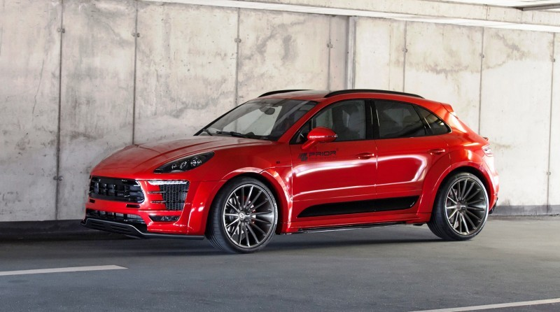 Porsche MACAN PD600M Widebody by Prior Design 1
