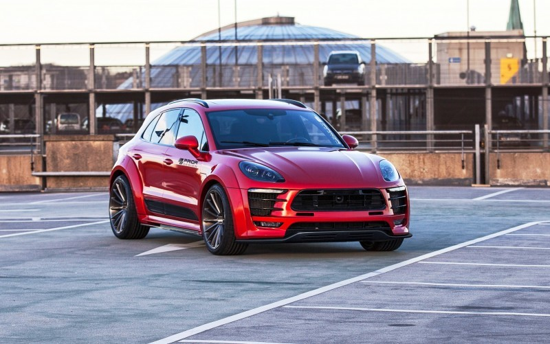 Porsche MACAN PD600M Widebody by Prior Design 3