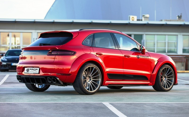 Porsche MACAN PD600M Widebody by Prior Design 5