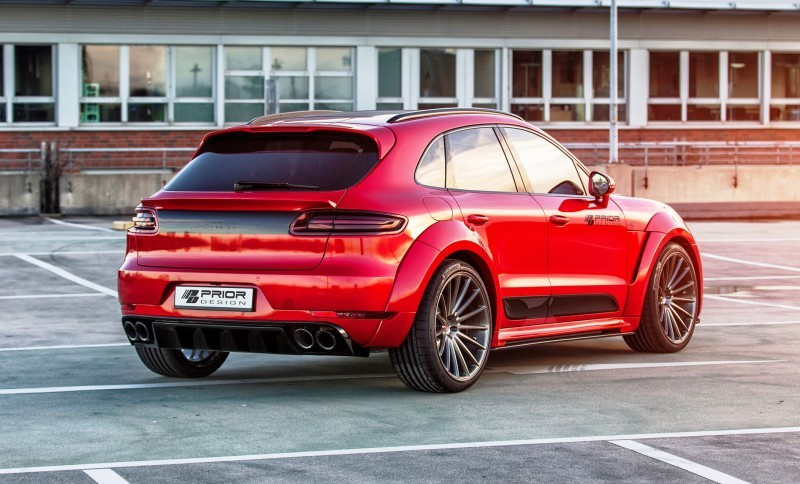 Porsche MACAN PD600M Widebody by Prior Design 6