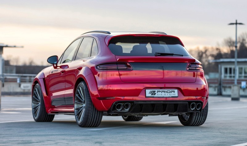 Porsche MACAN PD600M Widebody by Prior Design 7