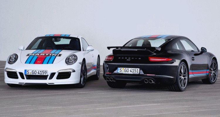 Porsche Martini header GIF