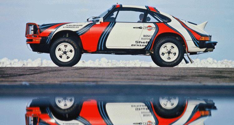 Porsche Rally stars gif