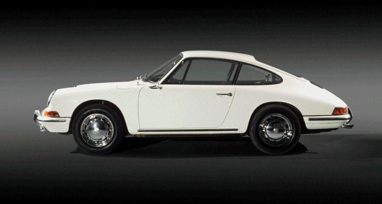 Porsche generations GIF
