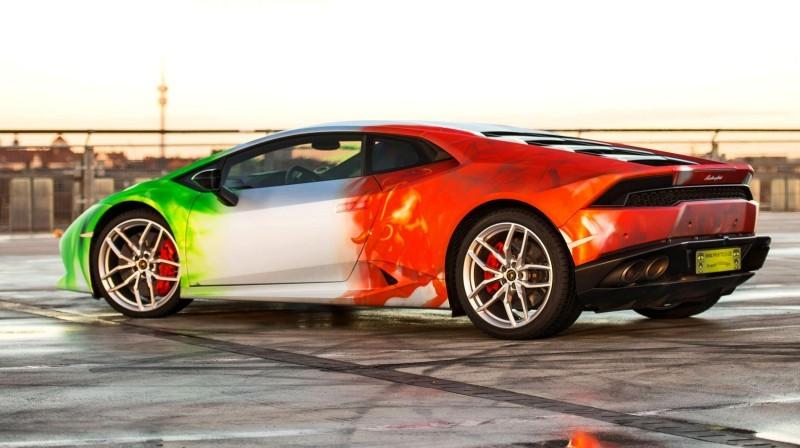 2016 PrintTech.de Lamborghini HURACAN TRICOLORE in Brushed Chrome Flames 2016 PrintTech.de Lamborghini HURACAN TRICOLORE in Brushed Chrome Flames 2016 PrintTech.de Lamborghini HURACAN TRICOLORE in Brushed Chrome Flames