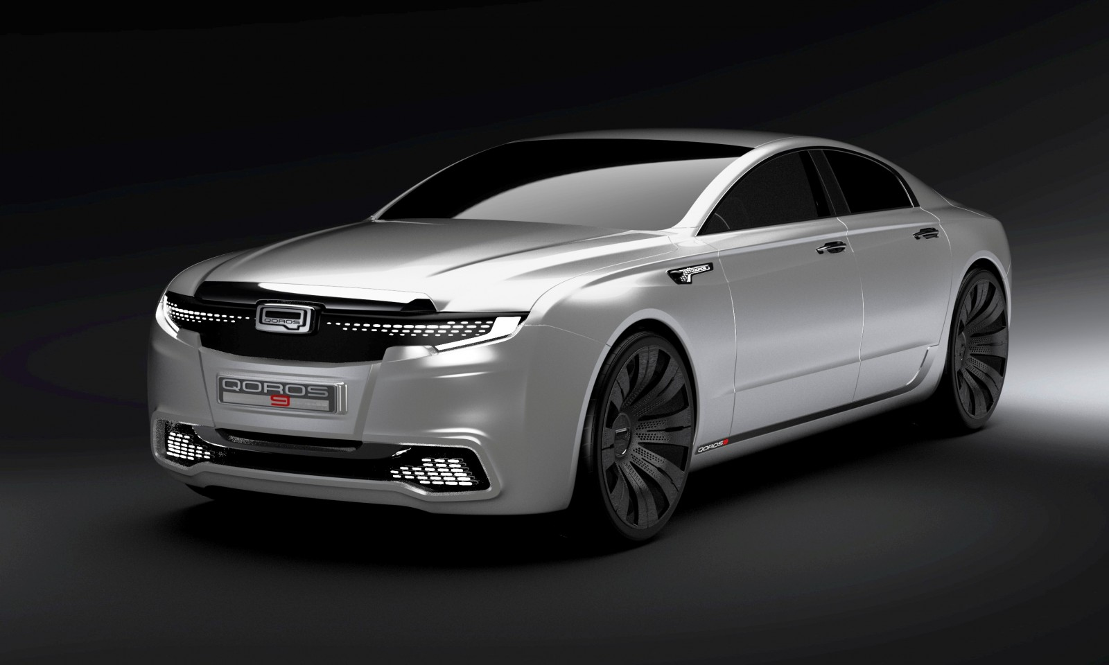 QOROS Is Little Brand With Big Ideas - Qoros9 and Flagship Concept Designs Maturing 2