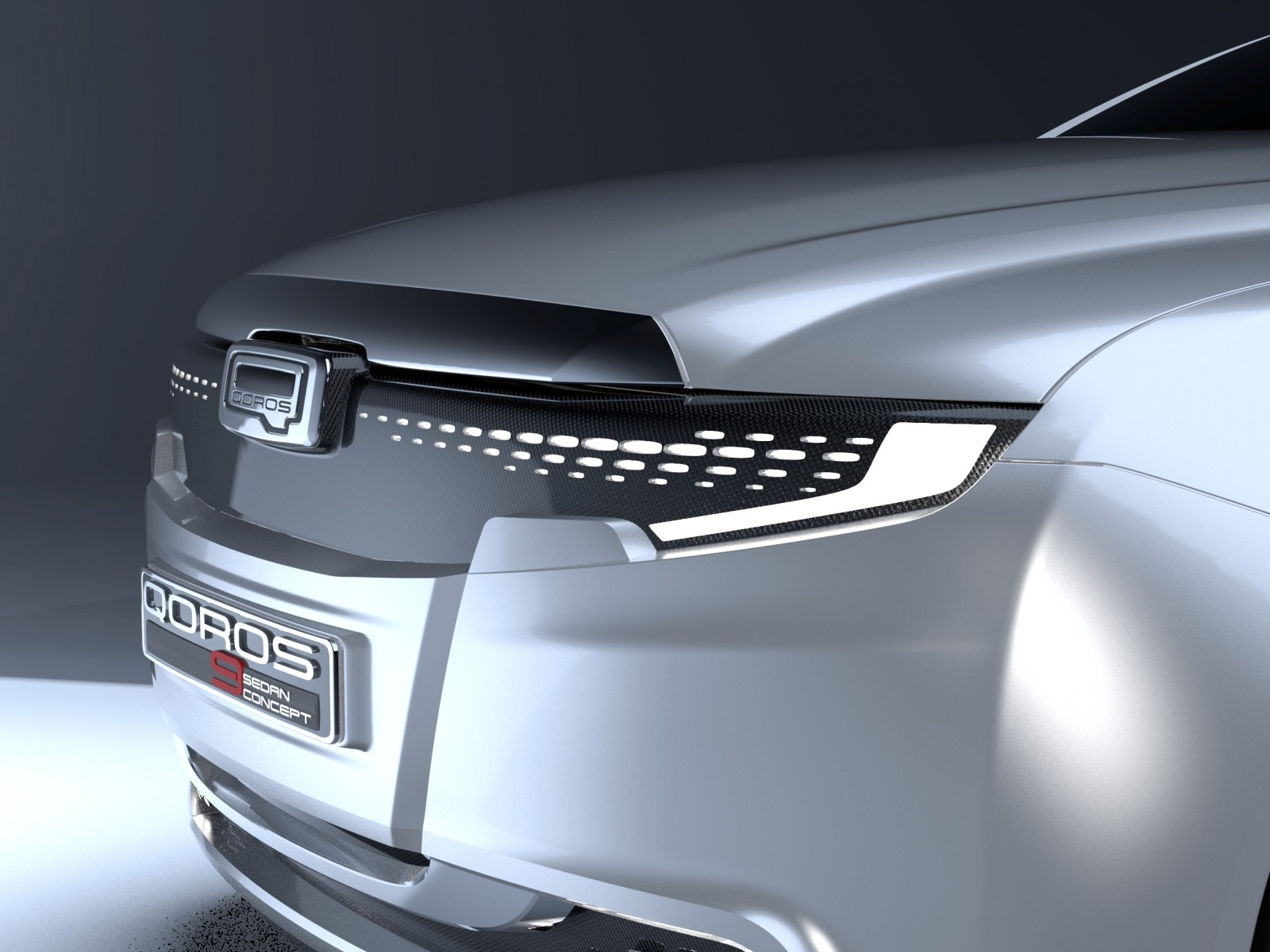 QOROS Is Little Brand With Big Ideas - Qoros9 and Flagship Concept Designs Maturing 5