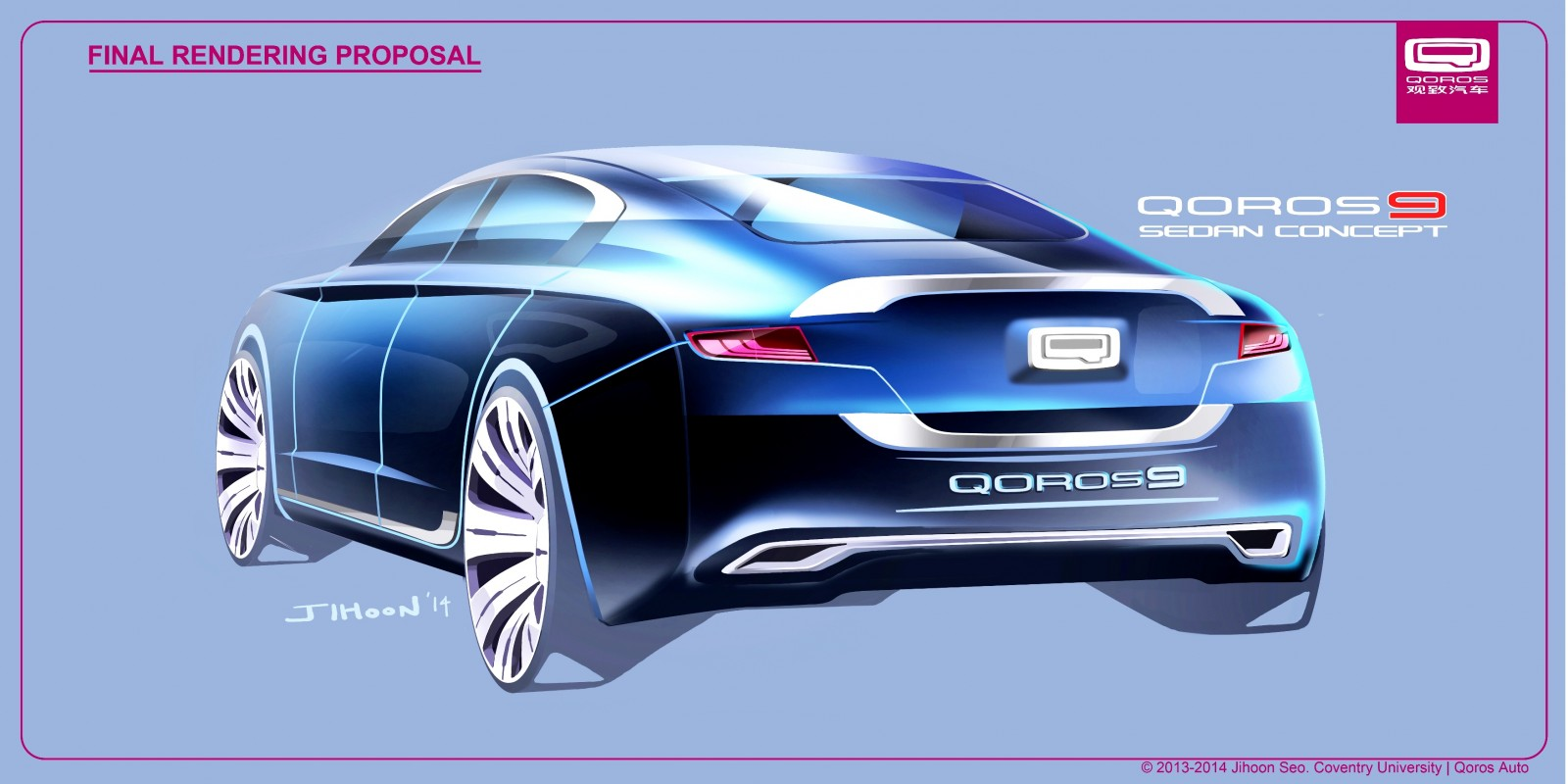 QOROS Is Little Brand With Big Ideas - Qoros9 and Flagship Concept Designs Maturing 8