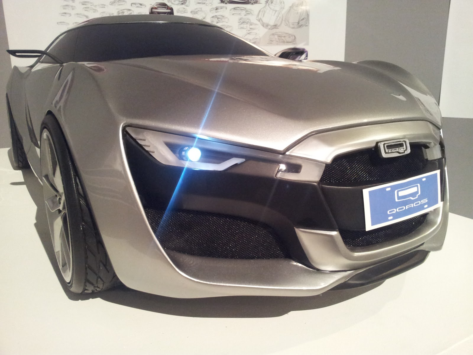 QOROS Is Little Brand With Big Ideas - Qoros9 and Flagship Concept Designs Maturing 9