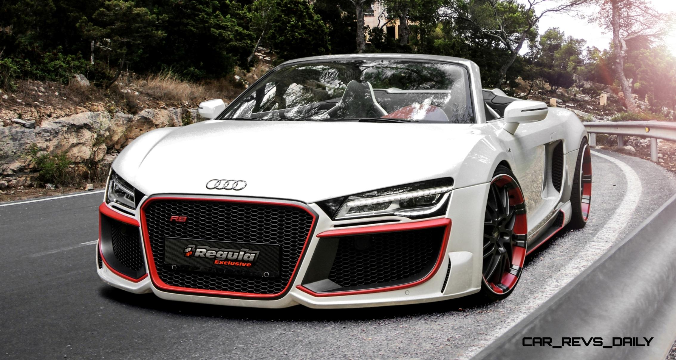 REGULA EXCLUSIVE Bodykits for Audi R8, Porsche Panamera and Porsche Cayenne Are Wild!