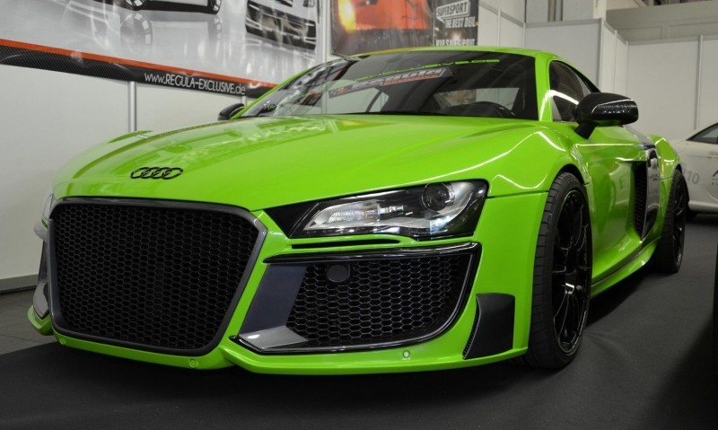 REGULA EXCLUSIVE Bodykits for Audi R8, Porsche Panamera and Porsche Cayenne Are Wide and Wild  11