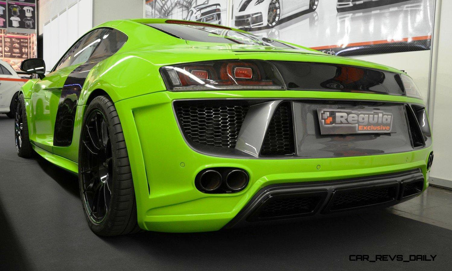 Performance Cars For Sale >> REGULA EXCLUSIVE Bodykits for Audi R8, Porsche Panamera and Porsche Cayenne Are Wild!