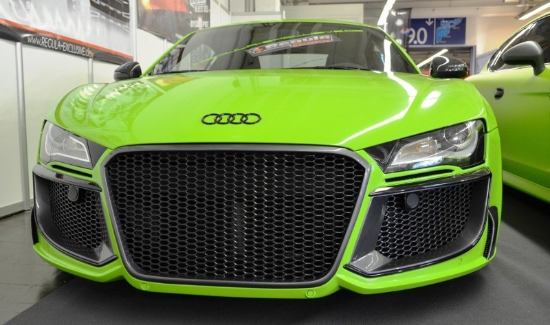 REGULA EXCLUSIVE Bodykits for Audi R8, Porsche Panamera and Porsche Cayenne Are Wide and Wild  13