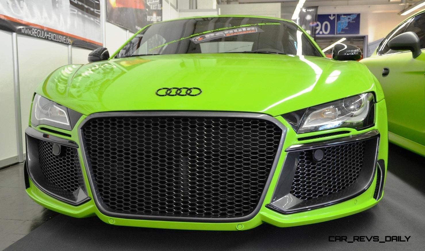 REGULA EXCLUSIVE Bodykits for Audi R8, Porsche Panamera and