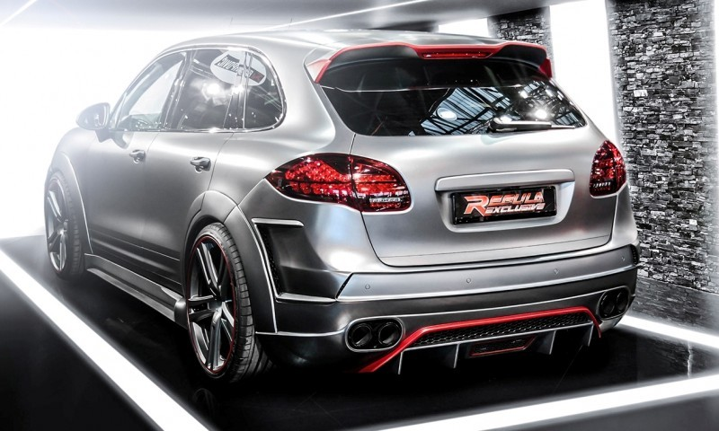 REGULA EXCLUSIVE Bodykits for Audi R8, Porsche Panamera and Porsche Cayenne Are Wide and Wild  18