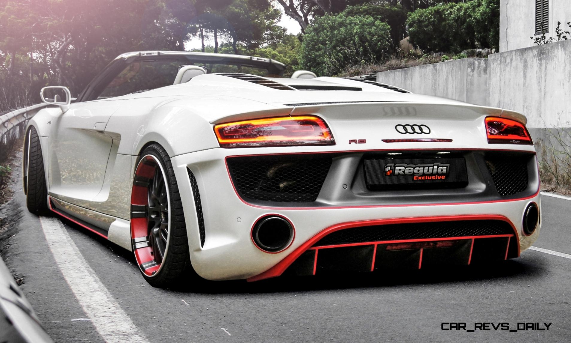 REGULA EXCLUSIVE Bodykits for Audi R8, Porsche Panamera and Porsche