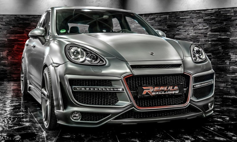REGULA EXCLUSIVE Bodykits for Audi R8, Porsche Panamera and Porsche Cayenne Are Wide and Wild  20
