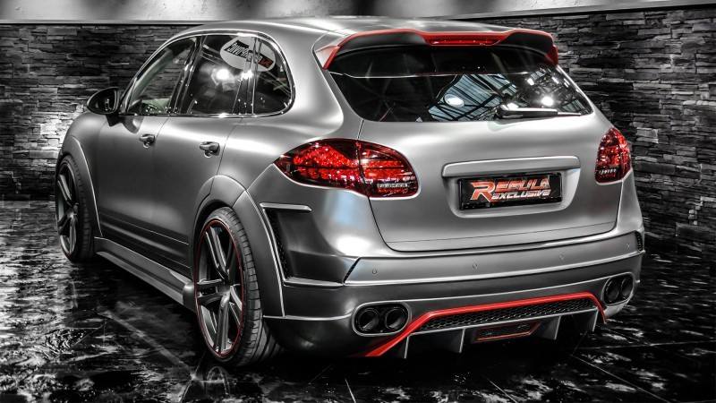REGULA EXCLUSIVE Bodykits for Audi R8, Porsche Panamera and Porsche Cayenne Are Wide and Wild  21