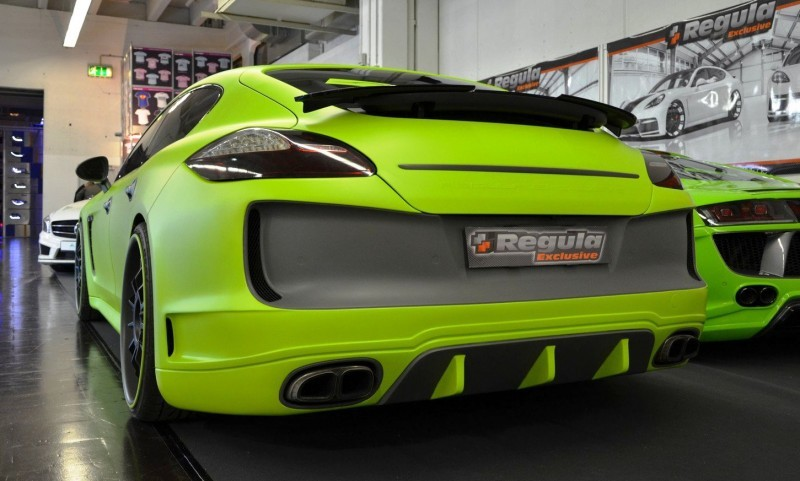 REGULA EXCLUSIVE Bodykits for Audi R8, Porsche Panamera and Porsche Cayenne Are Wide and Wild  9
