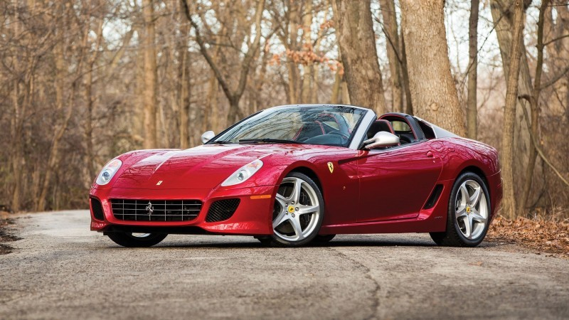 RM Arizona 2016 Preview - 2011 Ferrari 599SA Aperta 1