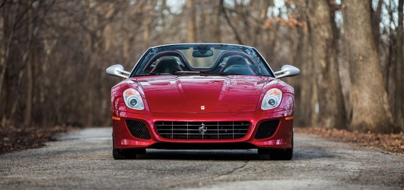RM Arizona 2016 Preview - 2011 Ferrari 599SA Aperta 12