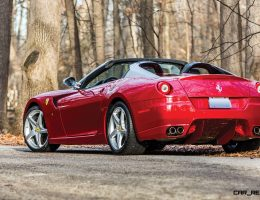 RM Arizona 2016 Preview – 2011 Ferrari 599SA Aperta