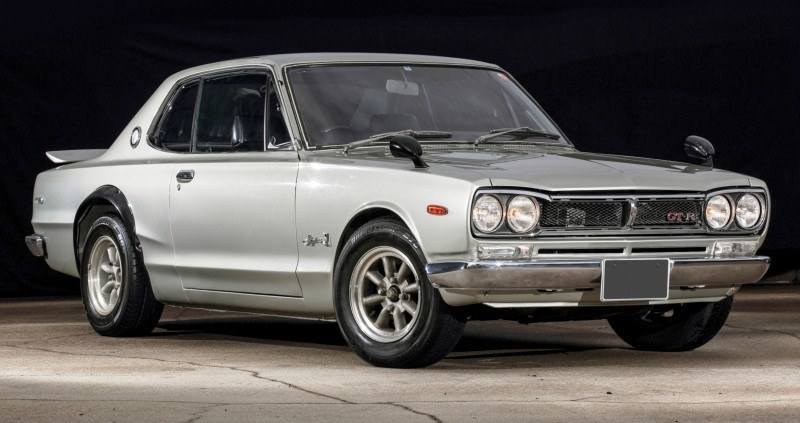 RM Auctions 2014 Monterey Preview - 1972 Nissan Skyline 2000GT-R Hakosuka 1