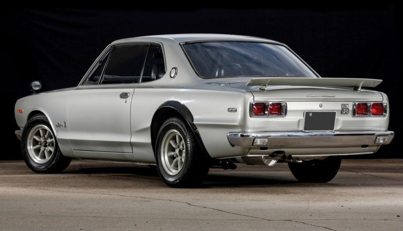 RM Auctions 2014 Monterey Preview - 1972 Nissan Skyline 2000GT-R Hakosuka 2