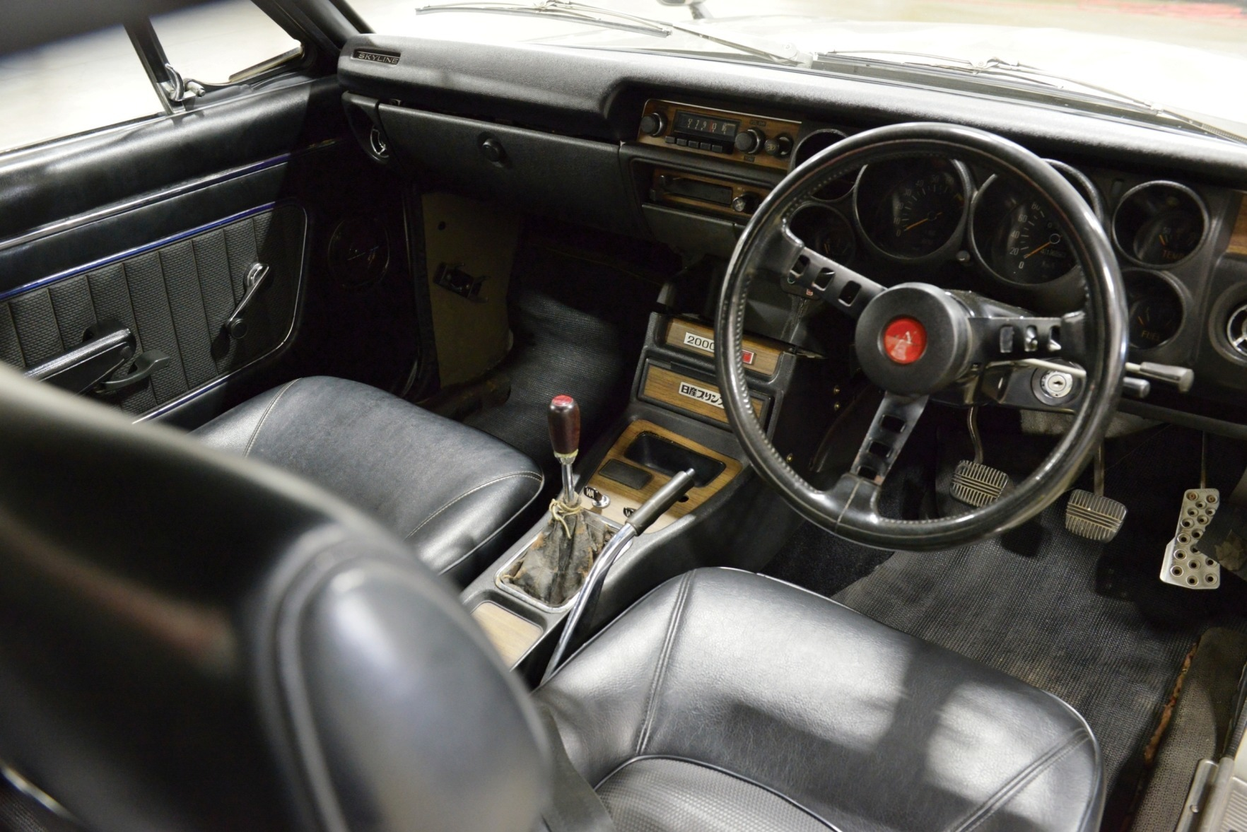 RM Monterey 2014 Preview - 1972 Nissan Skyline HT 2000 GT-R