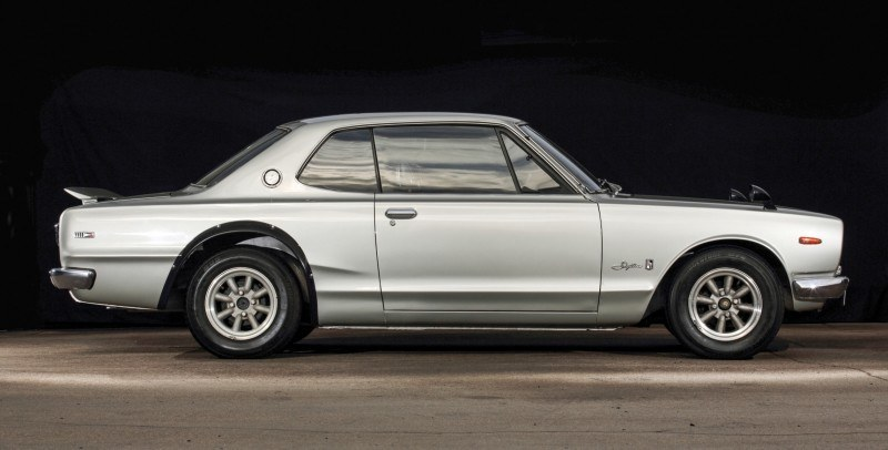 RM Auctions 2014 Monterey Preview - 1972 Nissan Skyline 2000GT-R Hakosuka 5