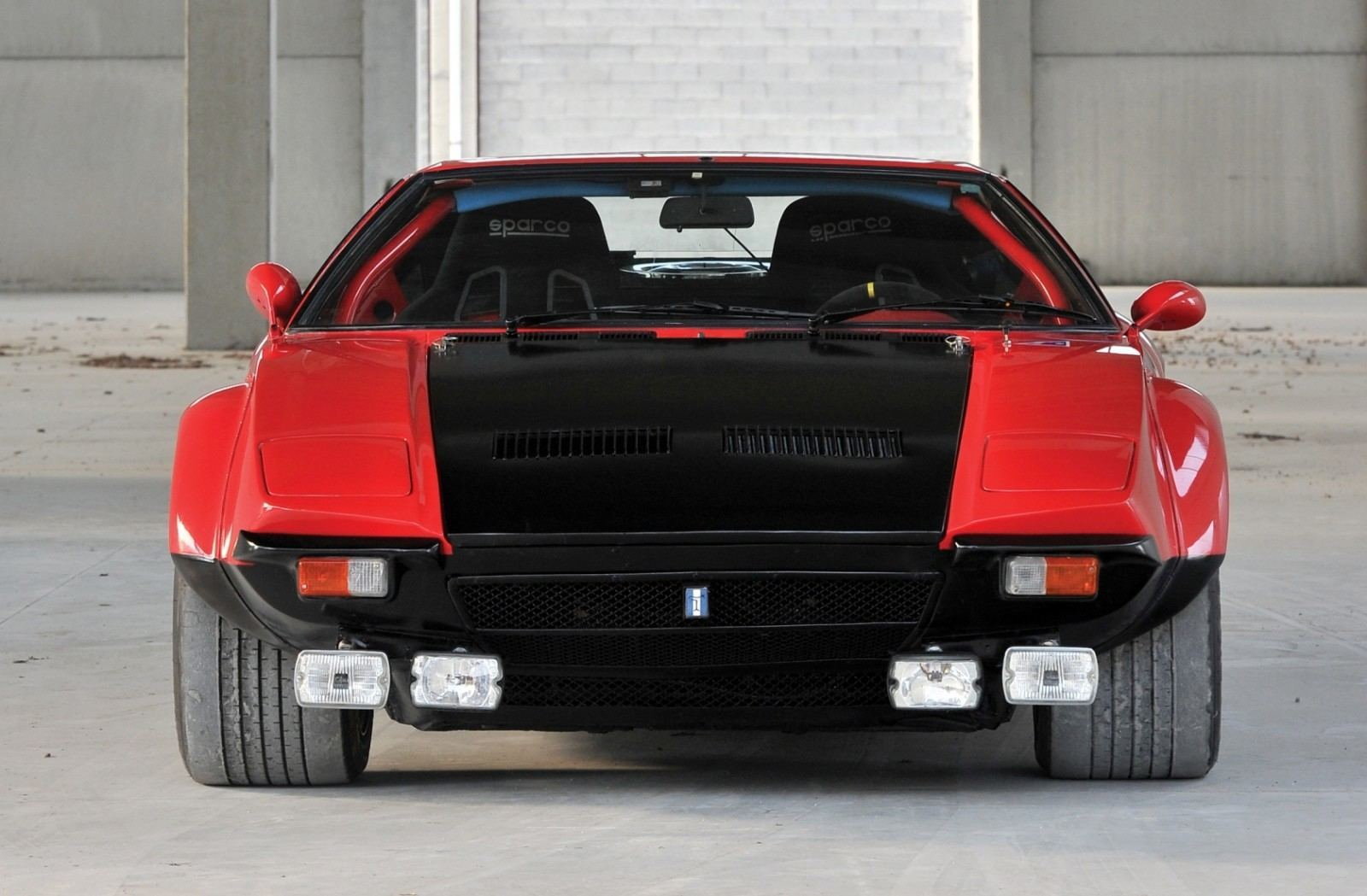 RM Auctions Monaco 2014 Highlights - 1973 DeTomaso Pantera Rally Special Is Low-Brow Heaven 16